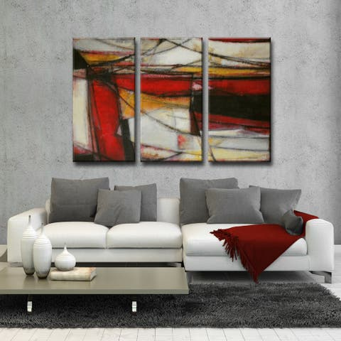 Ready2HangArt 'Re-Energized' by Norman Wyatt Jr. 3-pc Wrapped Canvas Art Set
