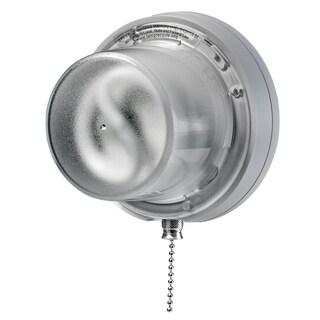 Leviton C20-09862-0PC 13 Watt White Compact Fluorescent Lampholder With Pull Chain
