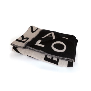 Hip Vintage Alphabet Throw