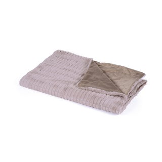Gray Cozy Throw