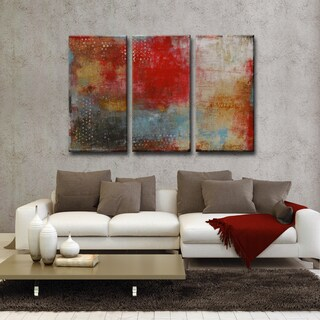 Ready2HangArt Norman Wyatt Jr. 'Impromtu' 3-piece Wrapped Canvas Art Set