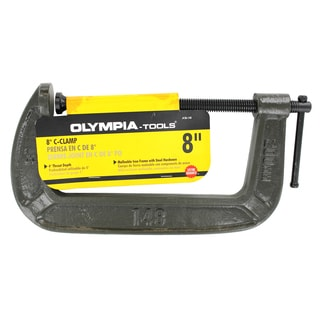 "Olympia Tools 38-148 8"" X 4"" C-Clamp"