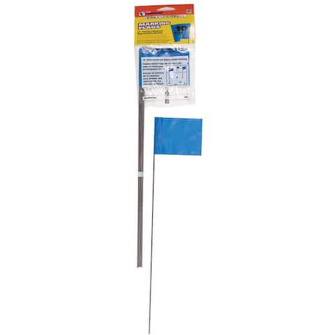 CH Hanson 15068 10 Pack Blue Marking Flags