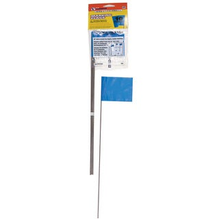 CH Hanson 15068 10 Pack Blue Marking Flags