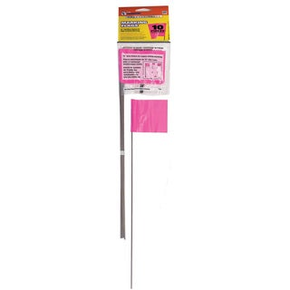 CH Hanson 15066 10 Pack Pink Marking Flags|https://ak1.ostkcdn.com/images/products/11638671/P18571930.jpg?_ostk_perf_=percv&impolicy=medium