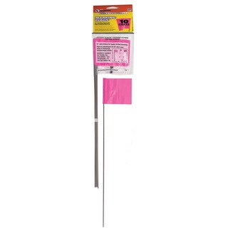 CH Hanson 15066 10 Pack Pink Marking Flags
