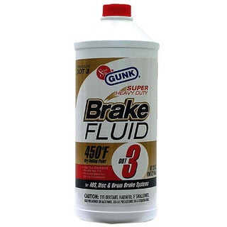 Gunk M4332 32 Oz Super Heavy Duty Dot 3 Brake Fluid