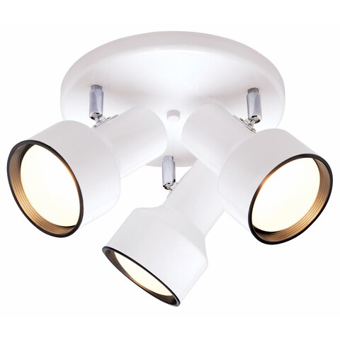 Westinghouse 6632600 Three Light Multi-Directional Ceiling Fixture