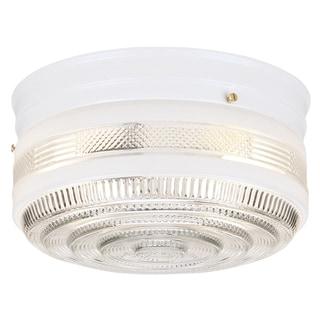 Westinghouse 6620300 Two Light Flush Mount Round CeilingFixture
