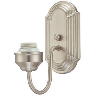 Westinghouse 6300200 Brushed Nickel Interior Wall Fixture