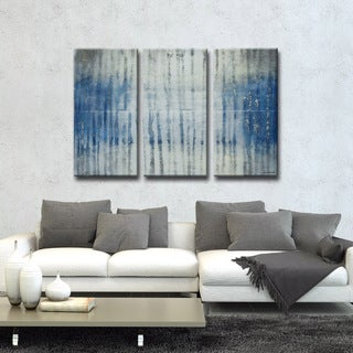 Norman Wyatt Jr. Ready2HangArt 'Reflections' 3-piece Wrapped Canvas Art Set