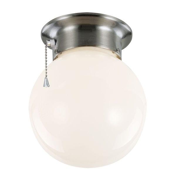 Bel Air Lighting CB-60039 1 Light Flushmount With Opal White Globe