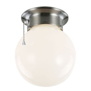 Bel Air Lighting CB-60039 1 Light Flushmount With Opal White Globe