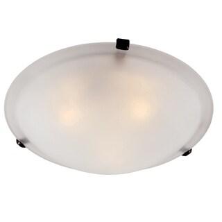 "Bel Air Lighting CB-58700-ROB 12"" Rubbed Oil Bronze Clips Flush Mount Fixture"