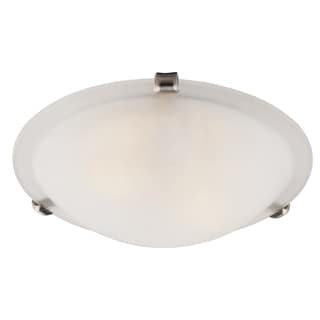 "Bel Air Lighting CB-58700-BN 12"" Brushed Nickel Clips Flush Mount Fixture"