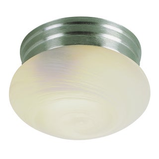 "Bel Air Lighting CB-3620-BN 10"" 2 Light Brushed Nickel Ceiling Light Fixture"