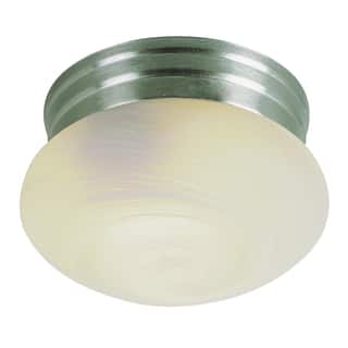 "Bel Air Lighting CB-3620-BN 10"" 2 Light Brushed Nickel Ceiling Light Fixture