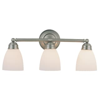 Bel Air Lighting CB-3357-BN 3 Light Brushed Nickel Bathroom Light Bar