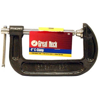 "Great Neck CC4 4"" Adjustable C Clamps"