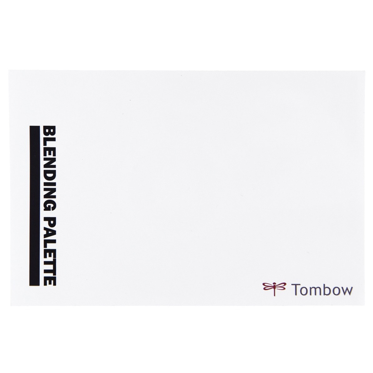 Details About Tombow Blending Palette With White Color Chart