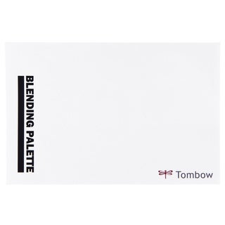Tombow Blending Palette with White Color Chart
