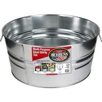 Galvanized Steel Round Tub