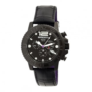 Breed Men's BRD6704 Von Marcus Black Watch