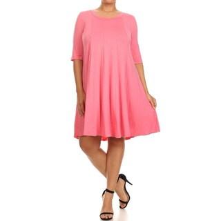 MOA Collection Plus Women's Short Dress