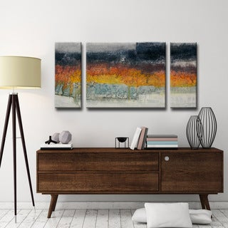 Ready2HangArt Norman Wyatt Jr. 'Dream Fields' 3-piece Wrapped Canvas Art Set