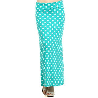 MOA Collection Polka Dot Maxi Skirt