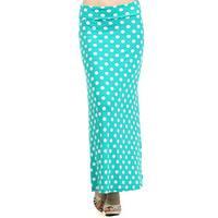 MOA Collection Polka Dot Maxi Skirt