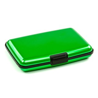 Extra Large Aluminum RFID Blocking Hard Case Aluma Wallet