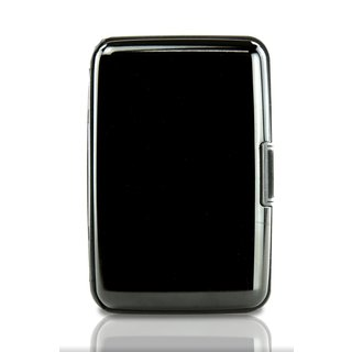 Large RFID Blocking Aluminium Wallet - Cash Holder and Purse Organizer