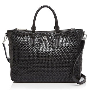 Tory Burch Robinson Woven Multi Tote Bag