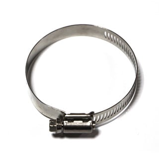 Taze High Torque 5.5 Inch to 6.5 Inch Worm Drive Hose Clamp (Pack of 10)