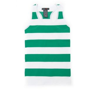 Soho Kids One Size Striped Fitted Tank Top