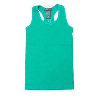 Soho Kids One Size Fit Solid Racer Back Tank Top