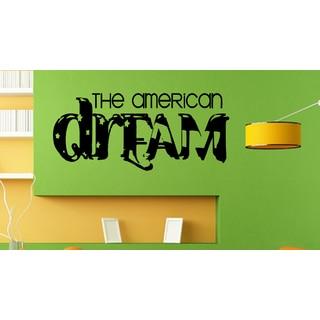 Graffiti American Flag American Dream Wall Art Sticker Decal