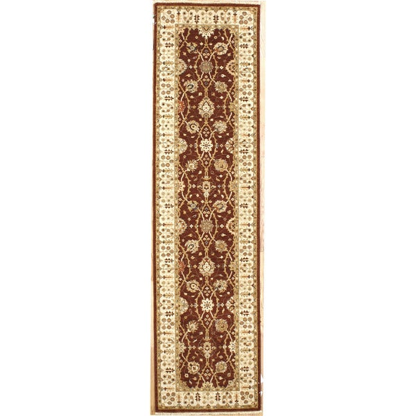 Hand-knotted Runner Rug (2'7 x 10')