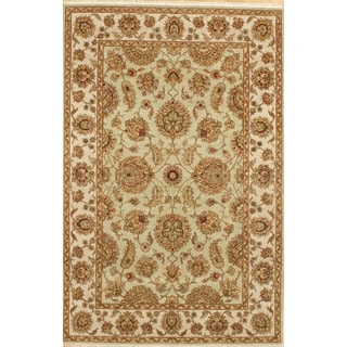 Hand-knotted Handmade Area Rug (5' 11 x 9' 1)