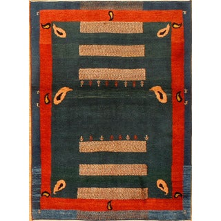 Hand-knotted Nomadic Beluchi Area Rug (3' 5 x 4' 8)