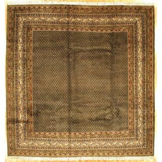 Sarouk Mir Design Area Rug (9' 9 x 10' 5)