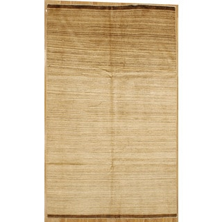 Hand-knotted Stripe Area Rug (5' 11 x 9' 9)