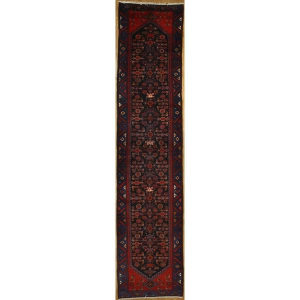 Persian Runner with Geometric Design - 3'5 x 15'9