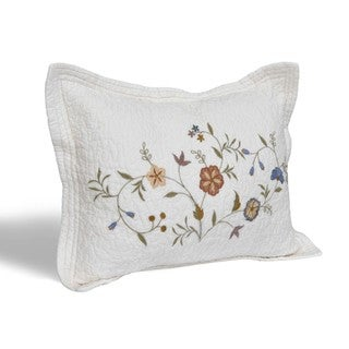 Copper Grove Couturie Floral Cotton Standard Sham
