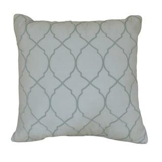 Nostalgia Home Arch Sea Trellis Decorative Throw Pillow