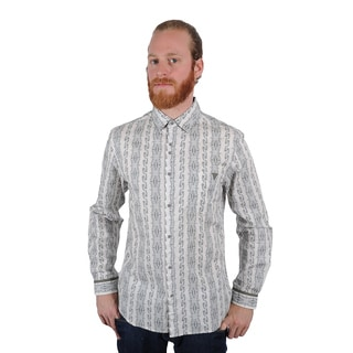 Lennon and McCartney Men's All You Need Is Love Button Up Shirt