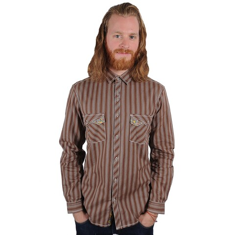 Lennon and McCartney Men's All You Need Is Love Button-Up Shirt