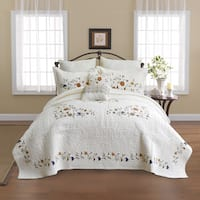 Copper Grove Angers Cotton Bedspread - Multi