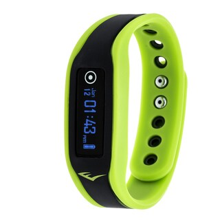 Everlast Wireless Green Fitness Activity Waterproof Tracker W/ OLED Display / Sleep TR3 Monitor Watch